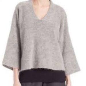 Eileen Fisher italian wool mohair boxy sweater